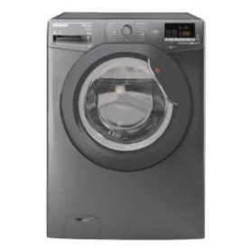 Hoover WDXOC6106AGG-80 10kg/6kg 1600 Spin Washer Dryer-Graphite